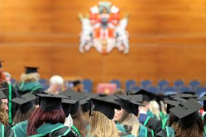 Graduations take place at the Ulster University Coleraine campus.