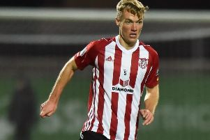 Derry City's Greg Sloggett.