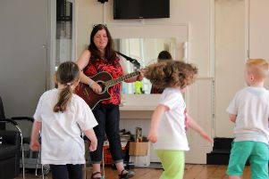 Early years music & movement facilitator Bernie Doherty, who will join a massive list of industry leaders, artists and facilitators have been announced for the 27th Playhouse Children and Teens Art Festival this month.