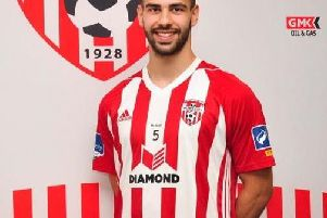 Conor Davis is hoping to make his full debut for Derry City against his former club, UCD on Friday night.