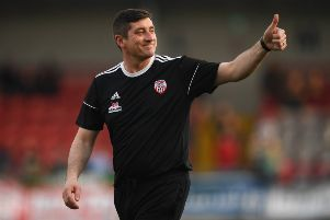 Declan Devine feels UCD will have no expectation going into tonight's encounter at the Ryan McBride Brandywell Stadium.
