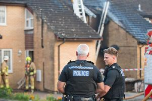 Sussex Police is treating the fire as deliberate. Picture: Eddie Howland