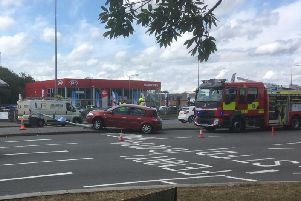 The accident at Roman Roundabout