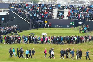 Crowds at the Open in Royal Portrush. (Photo: Pacemaker)