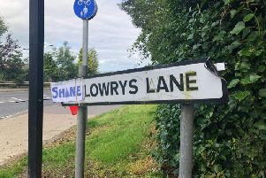 'Shane' Lowry's Lane, Derry. (Photo: Andrew Quinn)