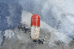 One of the capsules.