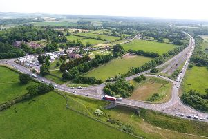 The Crossbush junction of the A27, where the proposed Arundel Bypass route would begin. Picture: Eddie Mitchell
