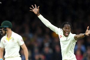 Sussex ace Jofra Archer has lit up the Ashes series (getty)