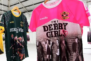The new 'Derry Girls' line of clothing produced by O'Neills.