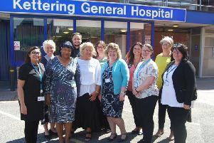 The hospital's Long Stay Wednesday team