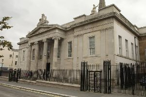 Derry Courthouse at Bishop Street.