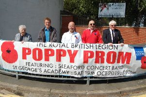 Sleaford Royal British Legion is launching tickets for this year's Poppy Prom. EMN-190816-173415001