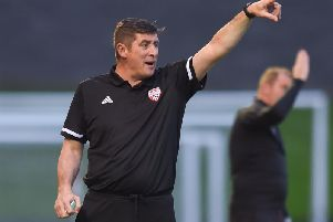 Declan Devine still hopes Derry can spoil Dundalk's treble bid when they arrive for the EA Sports Cup Final next month.