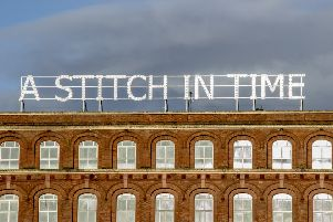 The art installation 'A Stitch In Time' gifted to Derry following the 2013 City of CUlture year.