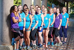 Lauren Gregory and the Run Like A Girl team. Photo taken by Runners World.