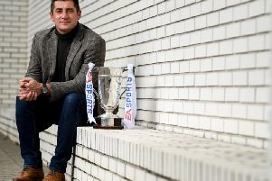 Derry City manager Declan Devine knows his side go into this evening's EA Sports Cup Final as underdogs.