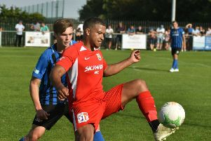 Kadeem Price opened the scoring and forced the penalty for Town's second EMN-190918-084238002