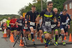 The start of the 2018 Stathern Duathlon EMN-190918-131324002