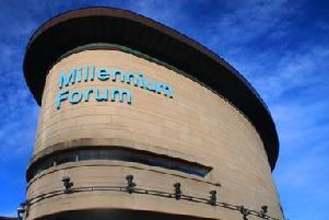 The event will be held at the Millennium Forum