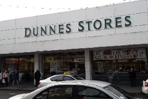 Dunnes store in Larne, which is to close