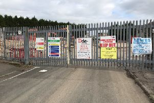 The former Sharwood's factory in Wainwright Road is being demolished