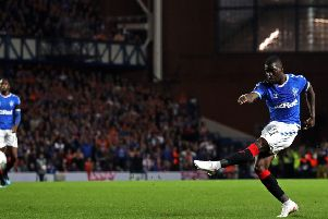 Sheyi Ojo's goal proved the difference for Rangers at Ibrox.