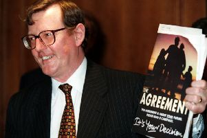 David Trimble's 1998 strategy was to put consent at the heart of any deal, which took priority for him over issues such as prisoner releases. Whether too high a price was paid is debatable, but it is clear no unionist would have backed changes which did not enshrine consent