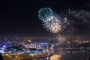 Thousands of tourists flock to Derry for events such as the Halloween celebrations.