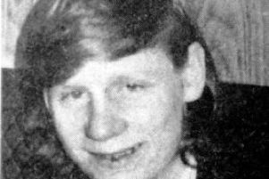 Thomas Friel was hit by a rubber bullet in Creggan in May 1973.