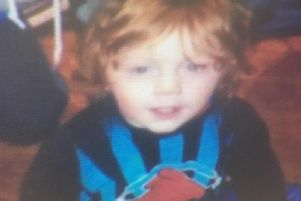 Three year old Kayden McGuinness, who died in November 2017.