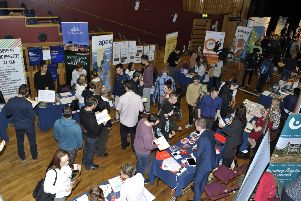 A previous Jobs Fair in Derry. DER3815GS047