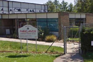Parklands Community Primary School. Photo courtesy of Google Street View