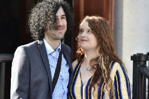 Emma DeSouza pictured with her husband Jake. (Photo: Pacemaker)