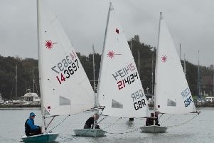 Chichester Yacht Club's Laser open / Picture by Chris Hatton