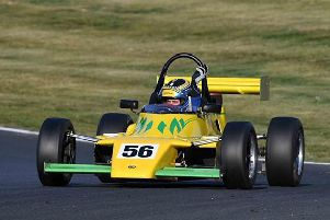 Ben Stiles in action in the National Formula Ford 2000 Championships at the weekend. Picture courtesy of Ben Stiles