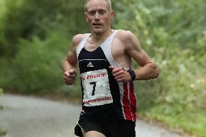 James Baker won the Exmoor Stagger - to his partial surprise