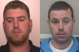The Hughes brothers - Christopher Hughes (left) and Ronan Hughes. (Photo: Essex Police)