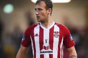 Derry City's Ally Gilchrist.