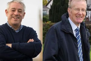 John Bercow and Gregory Campbell.