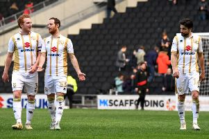 Dean Lewington and Ryan Harley will help out new boss Russell Martin