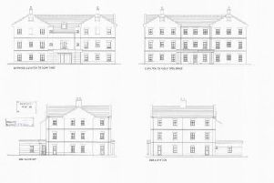 Artist's impressions of some of the proposed dwellings.