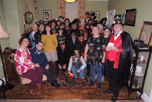 Heckington's Singing Windmill Steampunk Society members made donations of ?50 each to Heckington Pre-school and Hedgelina's Home for Hogs hedgehog rescue sanctuary at their Hallowe'en event on Friday night at the mill. EMN-190511-005859001