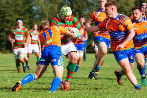 Matt Ashton punctured holes on the Casuals defence. Picture courtesy of Jon Staves EMN-191111-095108002