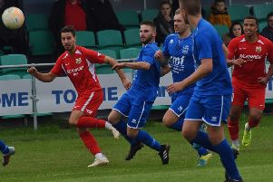 Melton Town last played a home league match on October 5