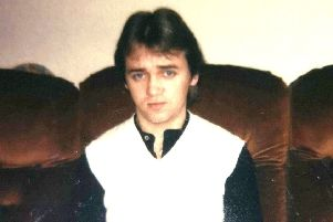 Jimmy Brolly's daughter shared this photo of her father in his younger years.