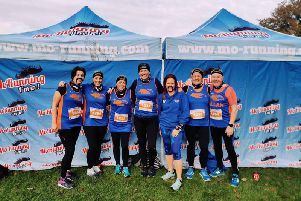 Tone Zone Runners at the MoRunner event