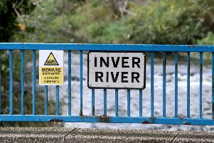 The girl died after entering the Inver River in Larne on Tuesday evening. (Photo: McAuley Multimedia)