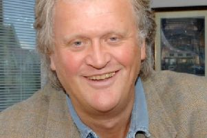 Undated handout photo issued by JD Wetherspoon of their chairman Tim Martin, who has launched a fresh attack on ministers over living wage and tax policies as the pub company reported a 25% fall in profits today. PRESS ASSOCIATION Photo. Issue date: Friday September 11, 2015. Chairman Tim Martin claims that pubs are under unfair pressure from the way they are charged VAT compared to supermarkets and that the introduction of the living wage will intensify the squeeze on them at a time when many are closing. See PA story CITY Wetherspoon. Photo credit should read: JD Wetherspoon/PA Wire''NOTE TO EDITORS: This handout photo may only be used in for editorial reporting purposes for the contemporaneous illustration of events, things or the people in the image or facts mentioned in the caption. Reuse of the picture may require further permission from the copyright holder.