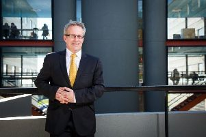Ulster University Vice-Chancellor Professor Paddy Nixon
