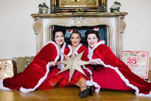 Acclaimed close harmony trio The Swingtime Starlets comes to Derry